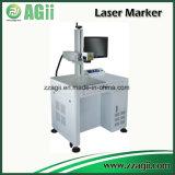 machine d'inscription de laser de la fibre 50W pour la gravure profonde de bijou de découpage d'or nommé d'argent