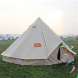 Grande barraca de Bell de acampamento ao ar livre