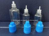 Childproof CapおよびSlender TIPとのISO 9001 10ml 30ml Square E-Liquid Bottles