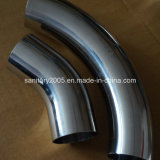 Weld端のステンレス製のSteel Sanitary Pipe Fittings Elbow