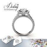 Het Kristal van de Juwelen van het lot van Makkelijke Mooie Ring Swarovski