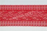 Garniture élastique de lacet pour le tissu décoratif