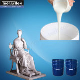 Tin Cure silicone pour Gypsum Sculpture Moules