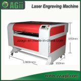 Автомат для резки гравировки лазера древесины высокой точности акриловый кожаный для сбывания