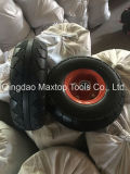 Roda livre lisa de borracha contínua da espuma do plutônio de Maxtop