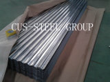 O material de construção 0.13*665/corrugou a folha de aço galvanizada da telhadura