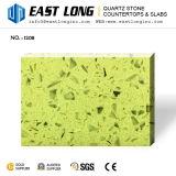 partie supérieure du comptoir directes de pierre de quartz de qualité supérieur d'usine de 3200*1600mm pour le modèle de cuisine