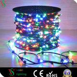 свет зажима шнура 12V медный СИД для украшения рождественской елки