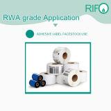 Matériaux imprimables excentrés d'étiquettes d'épreuve de l'eau avec MSDS RoHS
