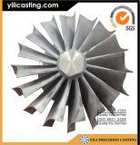 Inconel 713c Vakuumgußteil-Turbolader-Teile für ABB