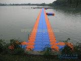 Muelle modular el pontón de flotación