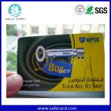 Cartão sem contato da identificação da freqüência dupla para o controle de acesso