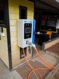 日産は速い充電器端末10kw EVのに100kw葉が出る