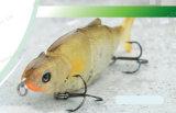 Attrait en plastique de bonne qualité de pêche--Attrait enduit UV de pêche de 5 sections (HW016)