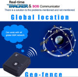 GSM Bug Tracker Lbs Position Two Way Monitor de áudio Sos Phone Call