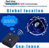 GSMのバグの追跡者Lbsの位置の対面可聴周波モニタSosの電話