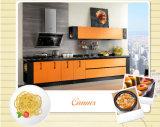 Cozinha lustrosa elevada moderna da laca (zz-041)