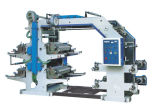Machine d'impression flexographique de Six-Couleur 6600