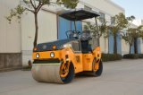 Maquinaria vibratoria hidráulica de la construcción de carreteras del tambor doble de 3 toneladas (JM803H)