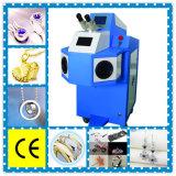 Soldadura por puntos de laser del metal de la joyería automática de la aleación/máquina del soldador