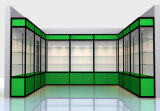 Coffret d'étalage en verre conception chaude de vente de nouvelle avec la lumière de LED