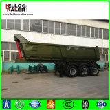 반 Fuwa 차축 덤프 트레일러, 녹색 45t 수용량 공용품 트레일러