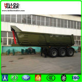Fuwa Axles сброса трейлер Semi, зеленый трейлер общего назначения емкости 45t
