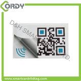 로고 printing NTAG216 칩셋을%s 가진 RFID NFC 꼬리표 레이블 스티커