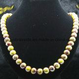 Großhandelsform-Schmucksachen bördeln Schmucksachen, Raupe-populäre Dame-Halsketten-Modelle, Mehrfarbenraupe-Halskette