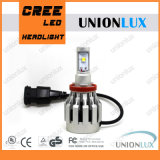 Faro luminoso eccellente H11 dell'automobile LED di 50W 2000lumen