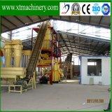 Низкая цена, хорошее качество, Ce одобрила деревянную производственную линию лепешки