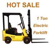 Der 1 Tonnen-elektrische Gabelstapler hob LKW für Verkaufs-Gabel-Aufzüge Preis festsetzen für allen Rad-Laufwerk-Aufzug-LKW an