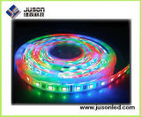 A barra quente IP65 DC12V da tira do diodo emissor de luz da venda 2016 Waterproof a luz de tira flexível 5m/Roll do diodo emissor de luz do RGB vermelha/verde/azul 60PCS/M