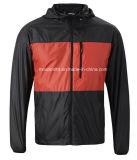2016 남자의 두건이 있는 경량 스포츠용 잠바 재킷 100%년 폴리에스테