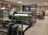 Máquina que lamina de la etiqueta engomada de la capa caliente de papel del derretimiento