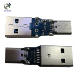 USB3.0 (유형 C) 여성 금에 의하여 도금되는 접합기에 새로운 도착 USB 3.0 (유형) 남성