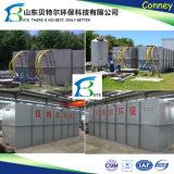 60tpd de Installatie van de Behandeling van het Water van het Afval van de binnenlandse Riolering, verwijdert Kabeljauw, BZV