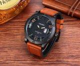 8screws大きいダイヤルの革バンドSsのバックルが付いている6858個の腕時計の方法斜面