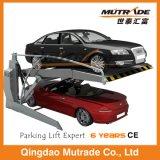 Подъем стоянкы автомобилей низкого 2 автомобиля столба 2 механически опрокидывая