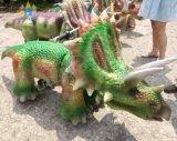 Batterie-Kind-Kostüm realistischer E-Roller Animaronic Dinosaurierreitet TierKiddie Auto