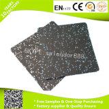 Azulejo de suelo de goma de la seguridad de interior antirresbaladiza de goma impermeable de la estera