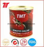 통조림으로 만들어진 토마토 풀 Tmt 상표 830g