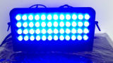48X10W RGBW 4 in 1 LED-Wäsche-Panel-Projektor-Licht DMX512