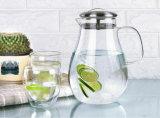 Бутылка кувшина воды напитка сока дома бака кофеего чая питчера термостойкого стекла