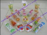 Flüssige füllende Wasser-Quetschkissen-Verpackungs-Milch-Beutel-Verpackmaschine