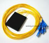 divisor de fibra óptica da caixa do ABS de 1X32 FC APC