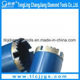 Outils Drilling de diamant de morceau de foret de faisceau de mur de briques