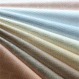 卸し売り光沢のある織り目加工の靴の原料ののどPUの革