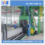Máquina Descaling nova do sopro de tiro do aço estrutural de 100%
