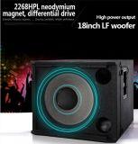 Sistema audio altoparlante professionale Vrx918s di Subwoofer di 18 pollici